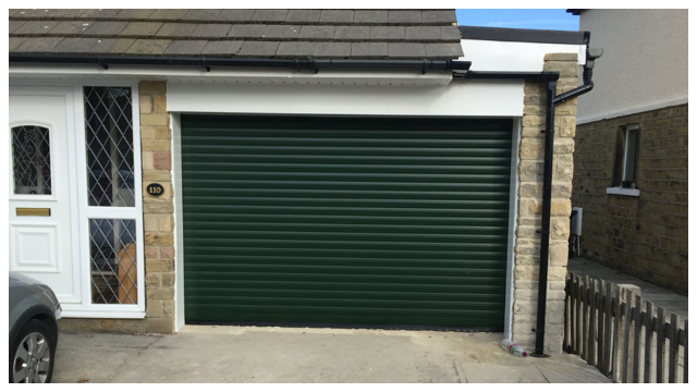 Bobcat Auto-Roll Garage Door